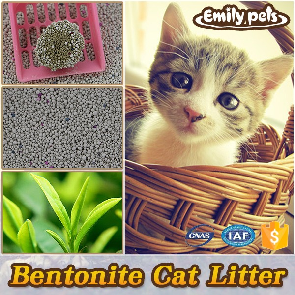 China supplier 99% dust free kitty toilet sand