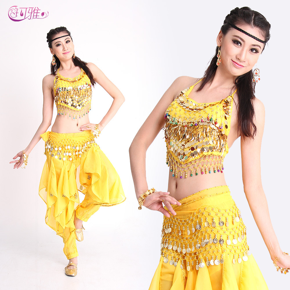 05768016af Get Quotations · Belly dance set sexy bollywood dance costumes belly dance  suit performance indian dress 5 color