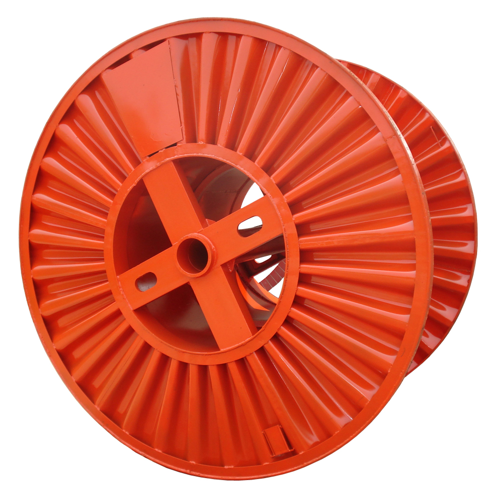 large size steel cable spool wire reel