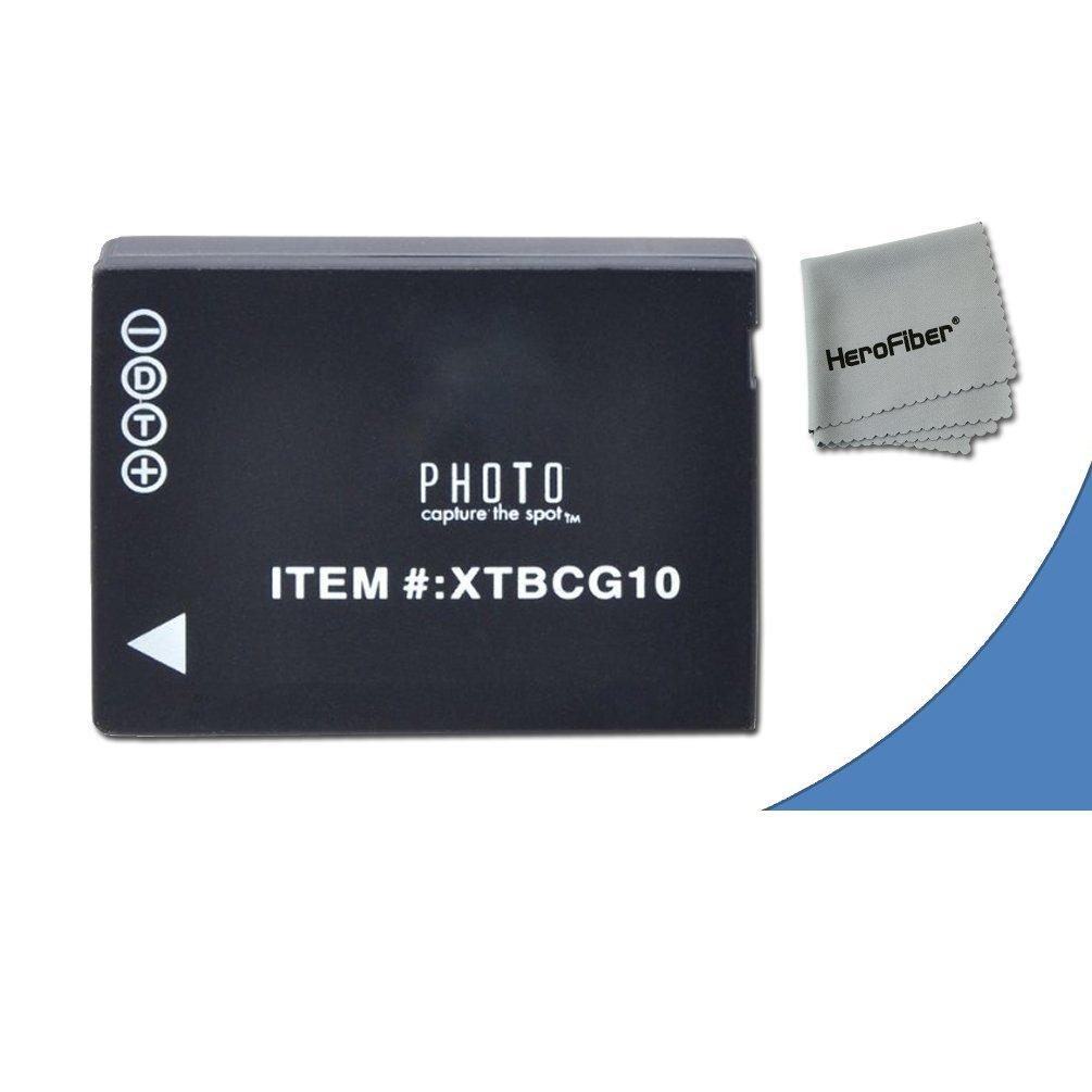 High Capacity Replacement Panasonic DMW-BGC10 / DMW-BGC10PP Batteries for Panasonic Lumix DMC-3D1, DMC-TZ6, DMC-TZ10, DMC-TZ18, DMC-TZ19, DMC-TZ20, DMC-TZ25, DMC-TZ30, DMC-TZ35, DMC-ZR1, DMC-ZR3, DMC-ZS1, DMC-ZS5, DMC-ZS6, DMC-ZS7, DMC-ZS8, DMC-ZS9, DMC-ZS10, DMC-ZS15, DMC-ZS19, DMC-ZS20, DMC-ZS25,