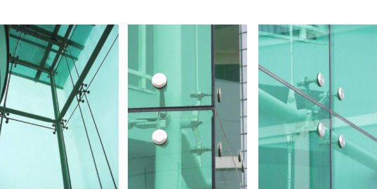 Spider Glass System Details : Stainless steel glass arms spider clamp curtain wall
