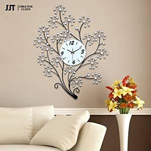 TONPAR Large modern creative clock mute European fashion art wall clock