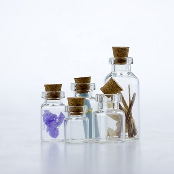 Hot sale best price glass vial with cork