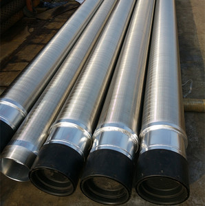 HUADONG Stainless steel Gravel packed screen / Gravel packed intake screen pipe