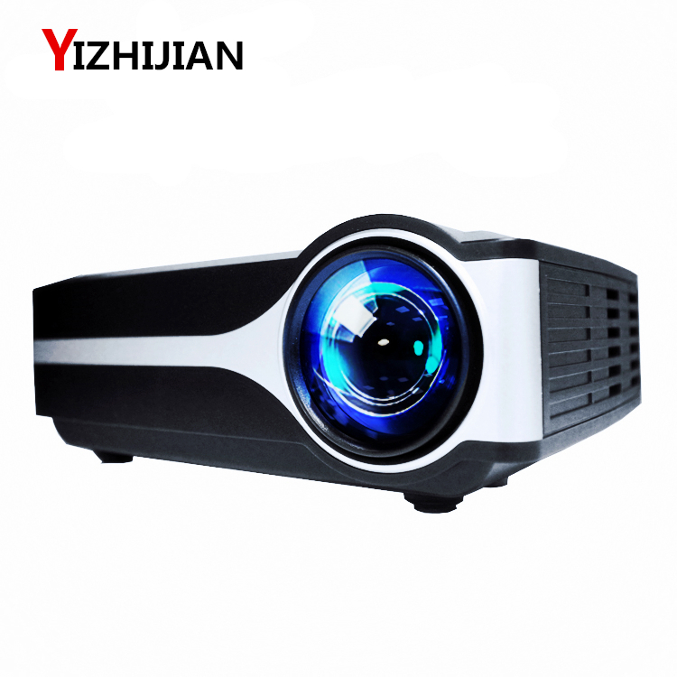 [Hot selling] Cheap high cost-effective mini HD LED home film cinema projector than mini 3D DLP home theater projector