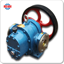 Hengbiao LC/LCW series asphalt cooling Insulation diesel fuel tank car tanker transfer condensate gear roots oil pump