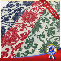 150m on sale ethnic big floral vintage cotton lycra fabric