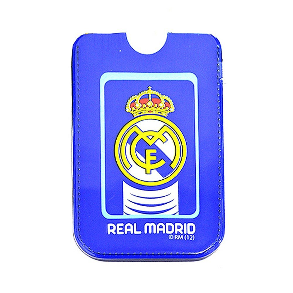 Real Madrid CF Official Football Crest Phone Case/Pouch (One Size) (Blue)