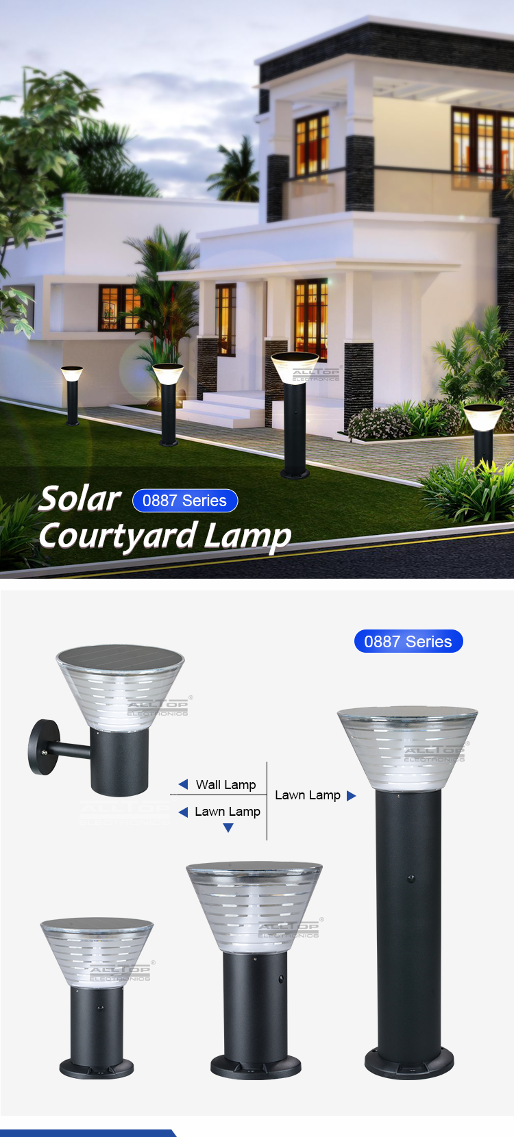 bright solar lights for yard-5