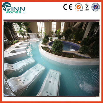 Swimming pool massage chair and spa massage bed buy for Swimming pool bed