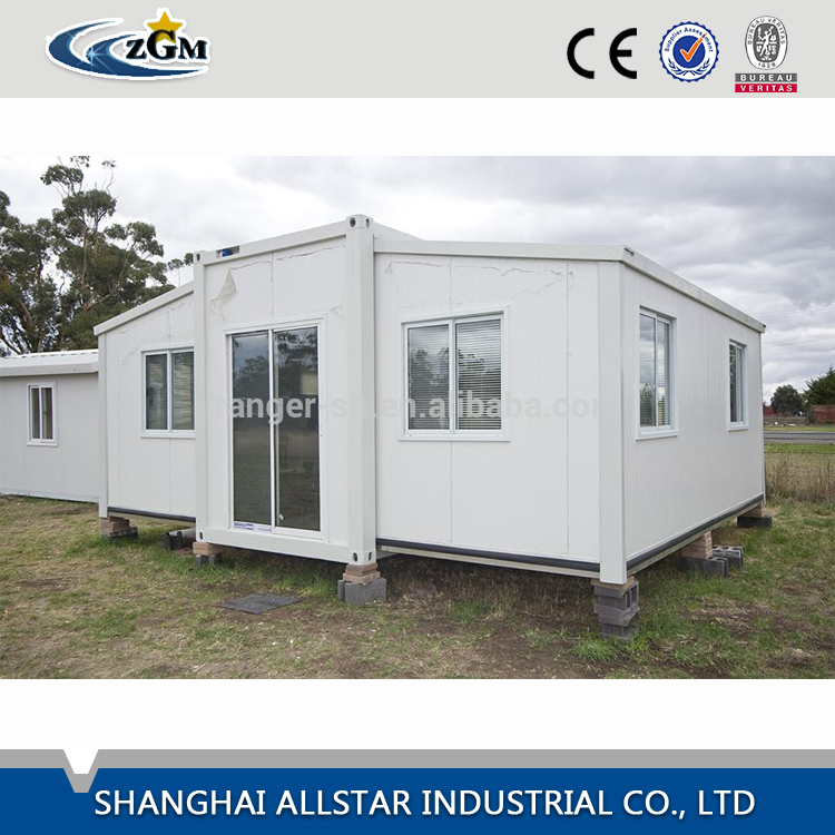 Standard luxury folding quick assembly expanded container house