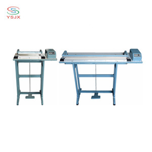 pedal sealing machine price / nylon cutting and sealing machine