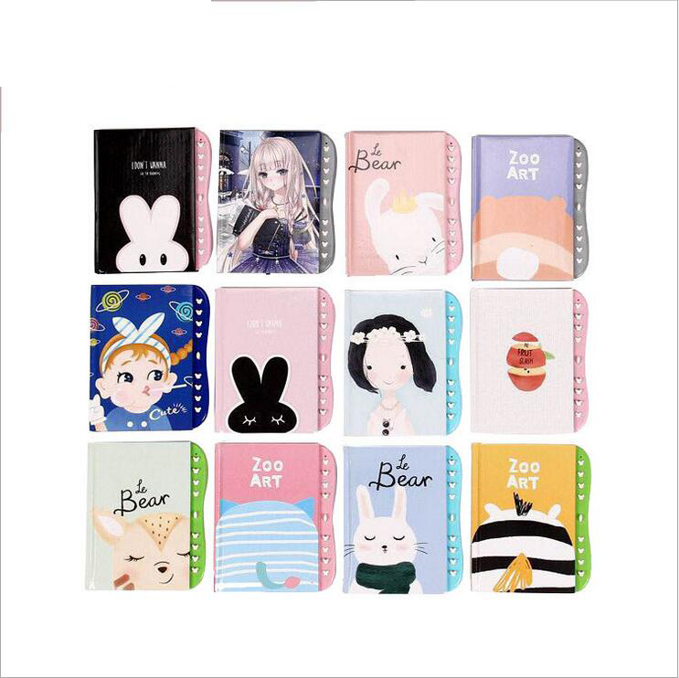 Wholesale A6 Cute Cartoon Student Pocket Journal Diary With Code Lock Buy Personalized Diary With Lock Pink Diary With Lock Combination Lock Diary Product On Alibaba Com