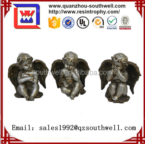 wholesale lovely resin fairy baby statue for sales