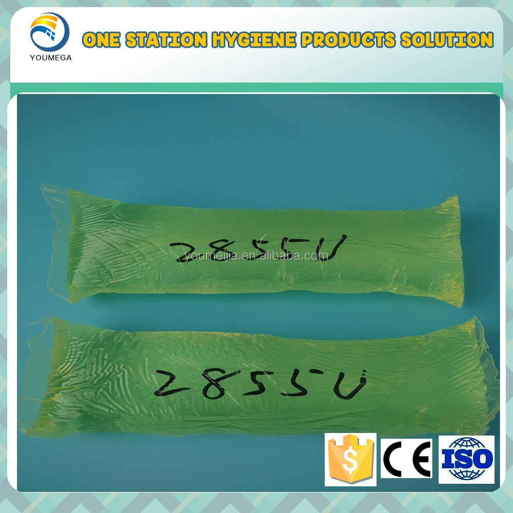 Elastic glue Hot Melt Adhesive for Baby Diaper Raw Materials in China