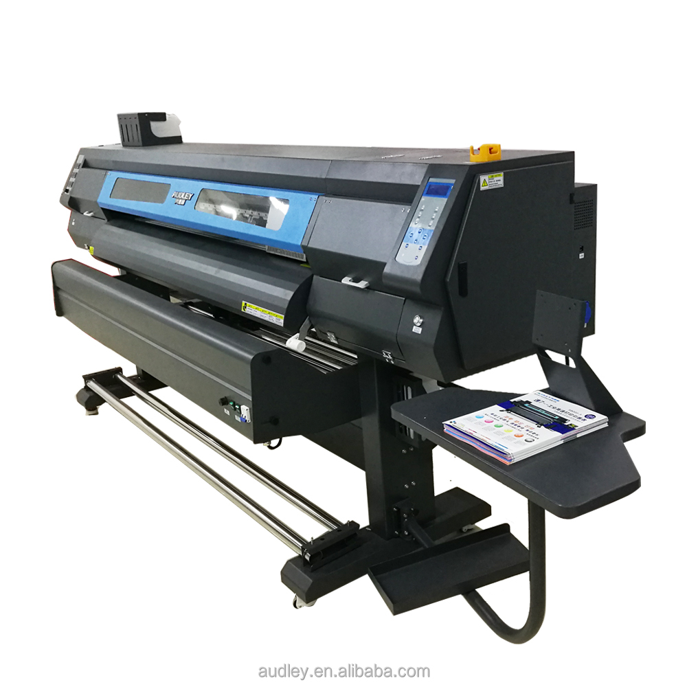 Audley S8000 190cm or 6 ft double heads eco solvent outdoor or indoor ink jet printer printer