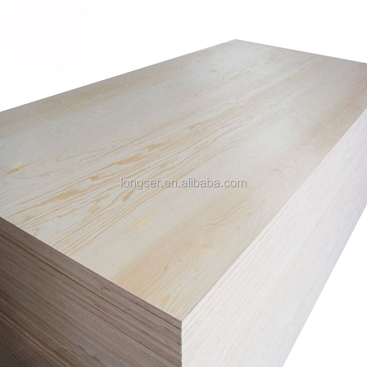 E1 glue single -faced bleached poplar plywood 3mm