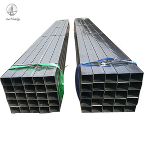 Q235B Construction Material Galvanized Square and Rectangular Hollow Section Steel Tube