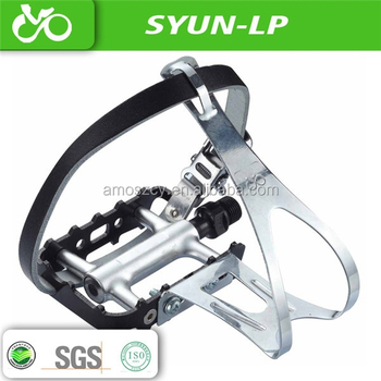 Custom Bike Spare Part Mtb Pedal Can Use Toe And Strap As Fixed