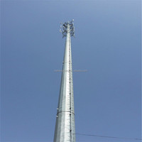 Best Price Monopole Steel Telecommunication Towers for sale