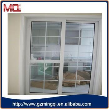 Fancy Design Plastic Korean Sliding Doorsdouble Glass Doors With