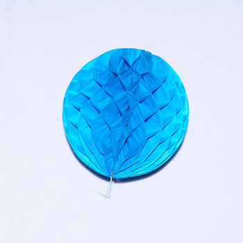 Meilun Art & Craft High Quality Blue party paper honeycomb ball