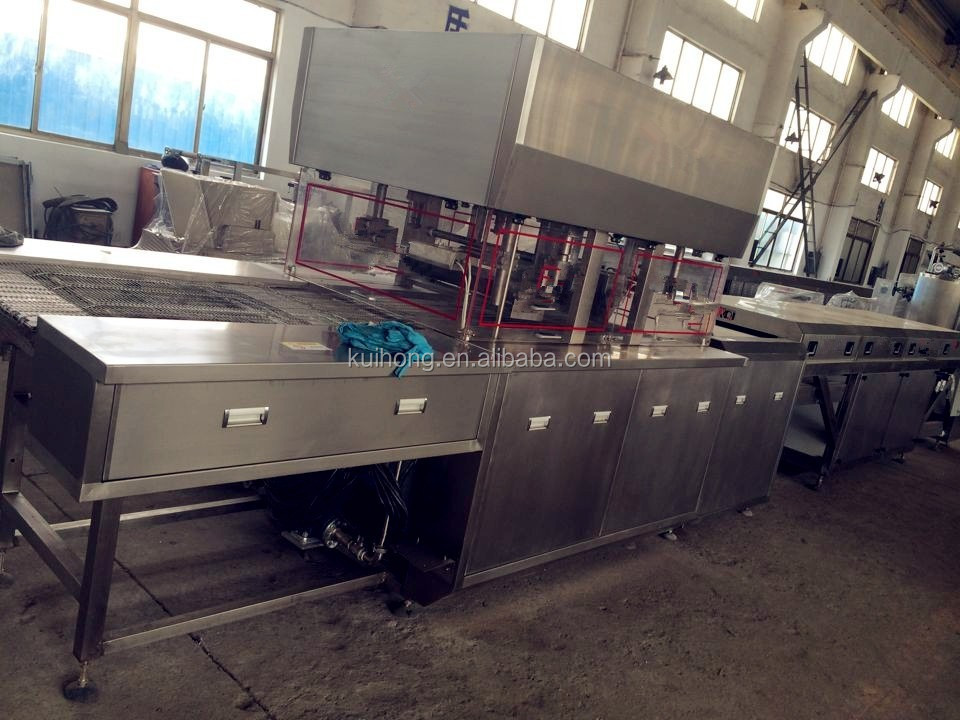 KH CE proved high-tech 400 small chocolate enrobing machine for coating chocolate for sale price