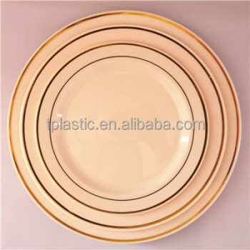Disposable Ps Plastic Plate With Hot Stamp Decorative Plastic Plates Buy Plastic Blue Charger Plates Plastic Ps Plate Disposable Plastic Plate