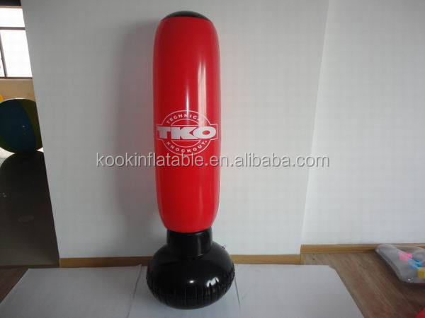 custom inflatable punching bag bop bag