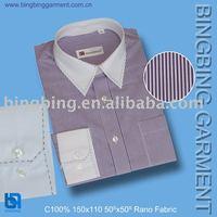 men's pigment dyed shirt