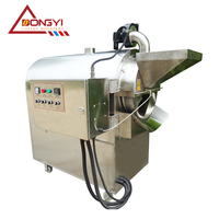Dongyi Automatic commercial 50kg grain&nuts roasting machine/cocoa bean drying machine/ stainless steel roasters