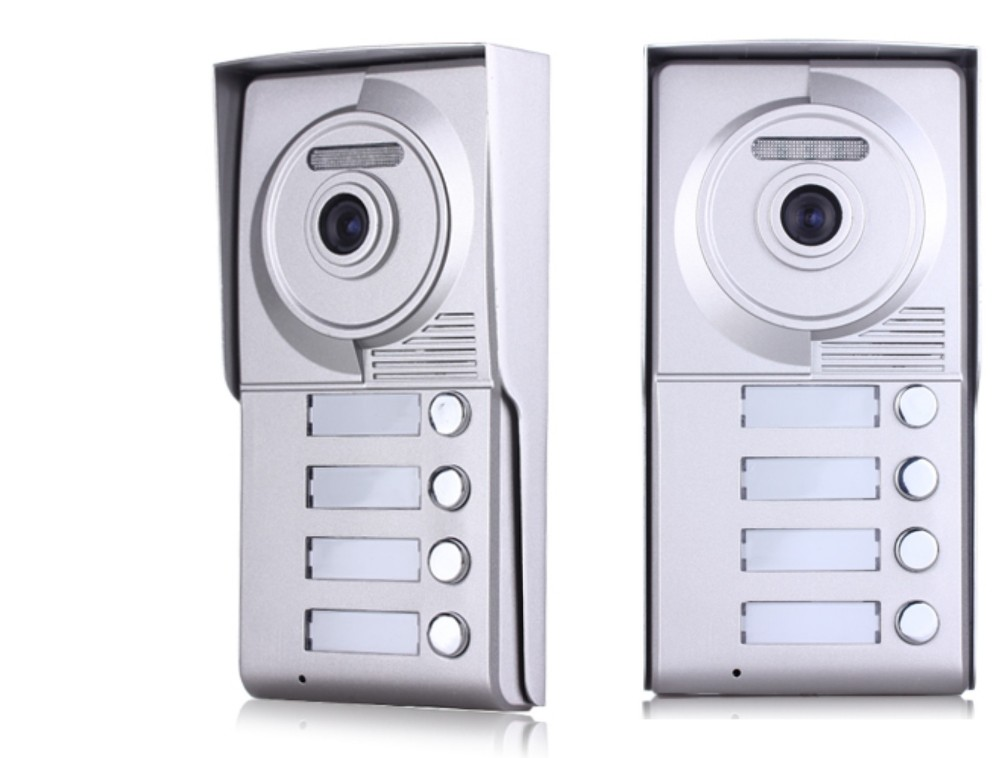 wire multi apartment intercom video door phone system 10inch touch