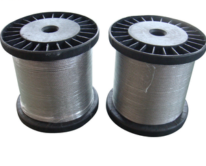 The size 1*7 1X19SS316 or SS304 hot dip galvanized guy steel wire strand for rope 12.7mm prestress pc concrete strand steel guy