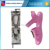 PVC/PCU Cross Sandal Mould PCU Blow Moulding for Sandals for Girls
