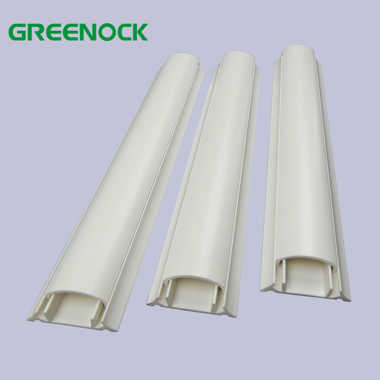 Hot Sale In Malaysia Electrical Cable Wiring Duct Half Moon Pvc Trunking For Flooring View Half Moon Pvc Trunking Greenock Product Details From Foshan Shunde Songsu Building Materials Industry Co Ltd On