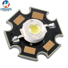 Power LED 3 W Putih dengan LED Chip Bridgelux 45mil LED dengan PCB