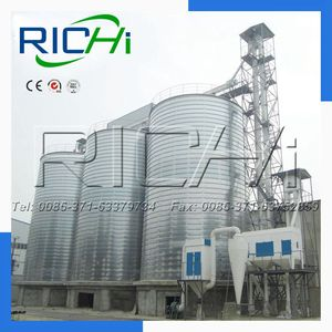 Manufacture of Grain storage cost/silo for wheat