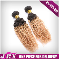 Advertising Promotion Chinese Two Tone Extention Ombre Brazilian Human Hair