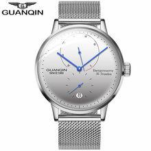 GUANQIN мужские часы лучший бренд класса люкс автоматические Дата мужские повседневные модные часы водонепроницаемые механические наручные ч...(Китай)