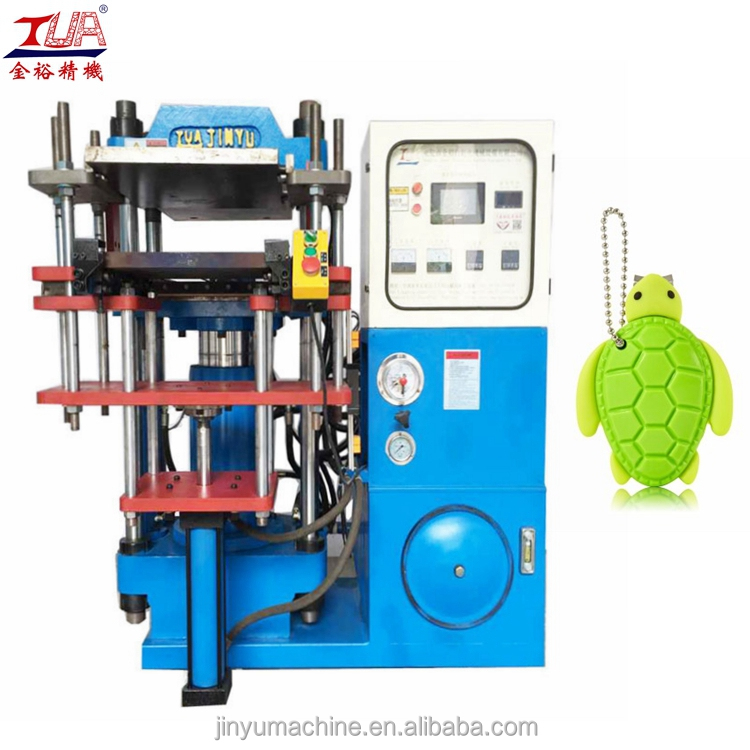 Automatic single head hydraulic small plastic products making machine
