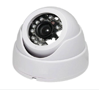 High Definition Plastic Home Security 2MP 1080P AHD IR Dome CCTV Camera FCC CE