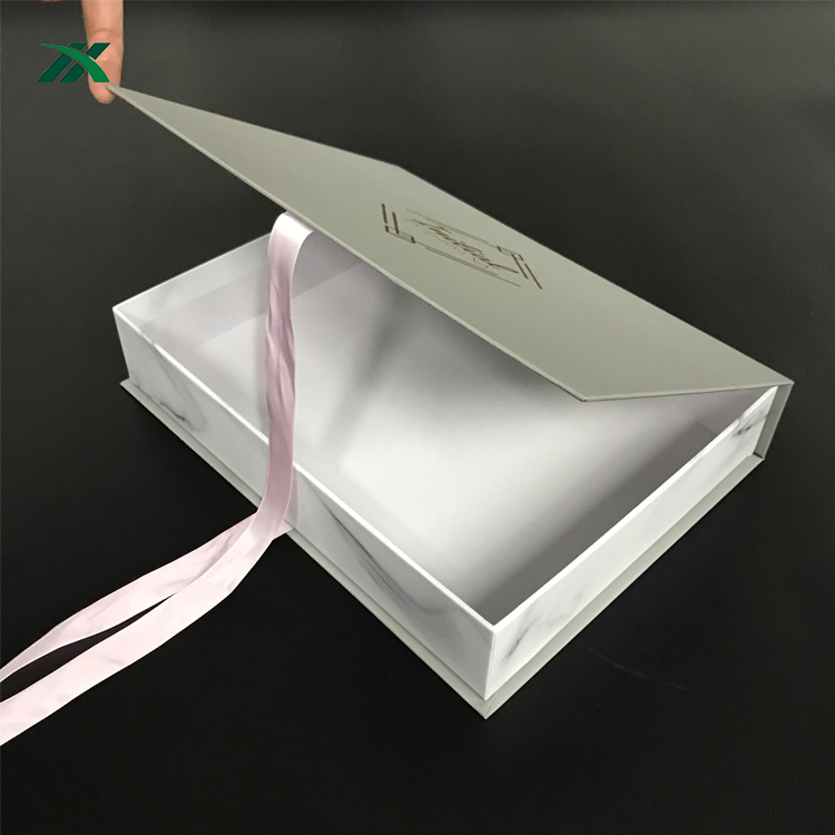 custom design paper box garment packaging for sale