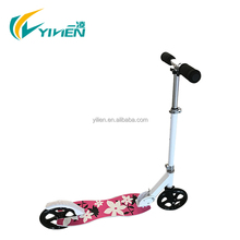 Quick folding aluminium adult kick scooter