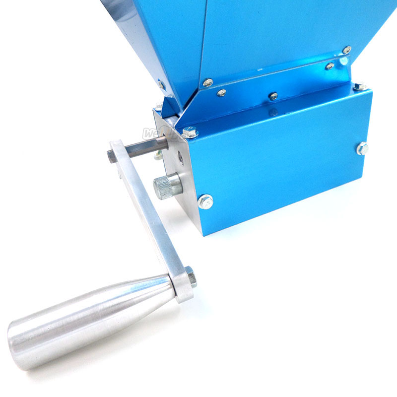 Homebrew 3 Rolls stainless steel grain crusher mill malt