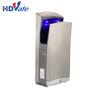 Wall Mounted Automatic Uv Light Jet Air Hand Dryer With