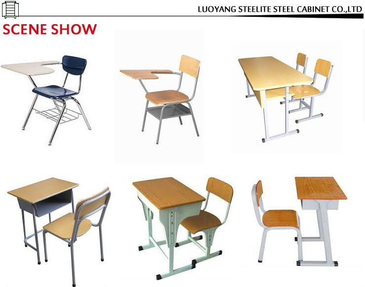 Modern Classroom Tables : Modern cheap individual school desk and chair