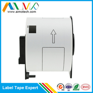 Shipping Labels DK-11202 Die-Cut Paper Labels Roll Black on White 62 x 100 mm 100% Compatible High Quality