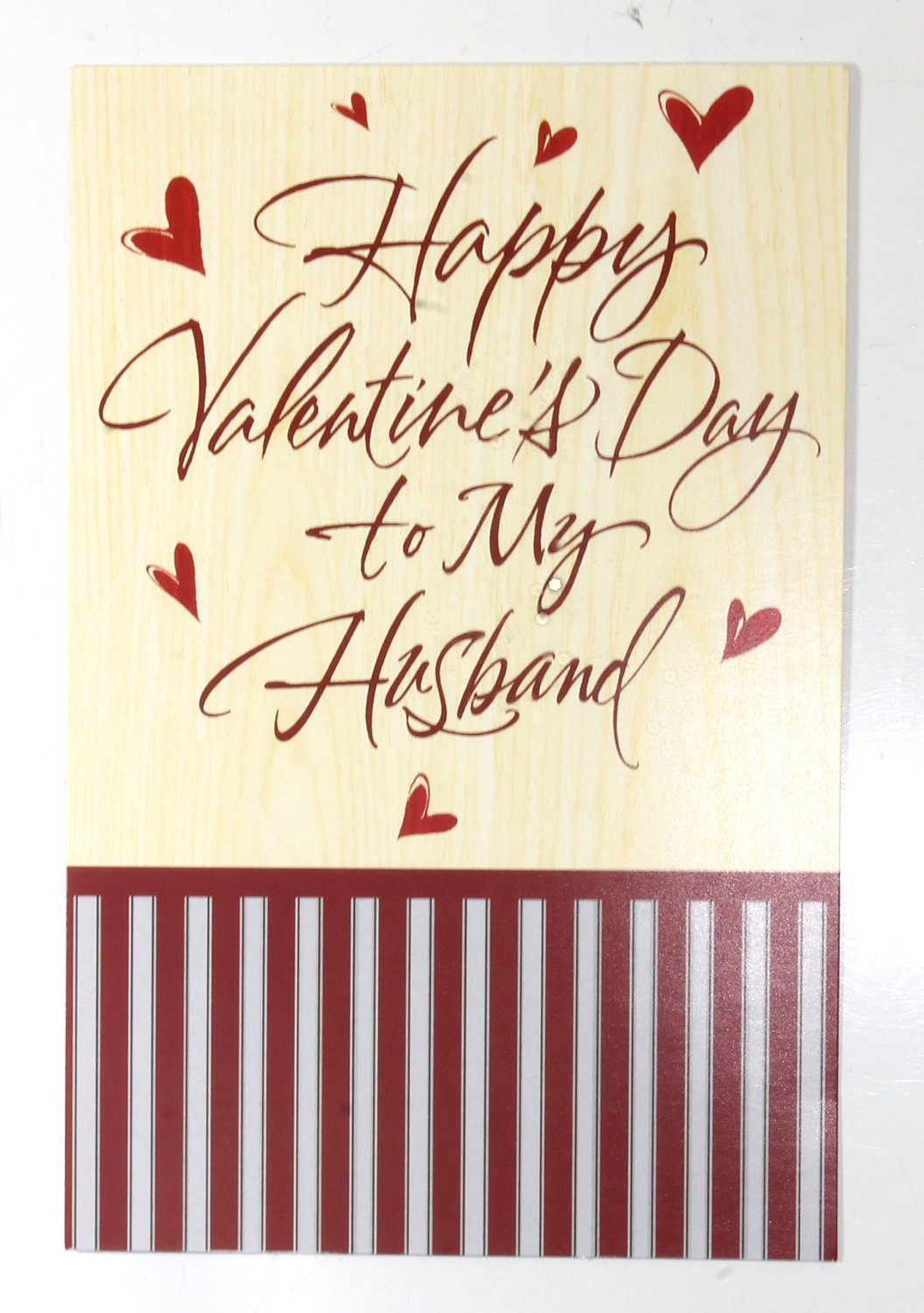 get quotations valentine card to husband happy valentines day to my husbandamerican greetings each