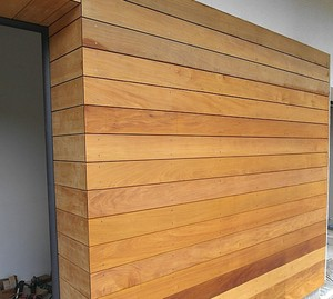 Golden garapa hardwood cladding & siding