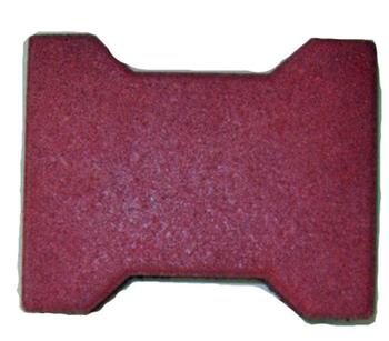Dog Bone Shape Rubber Tilerubber Floor Tile Outdoor Rubber